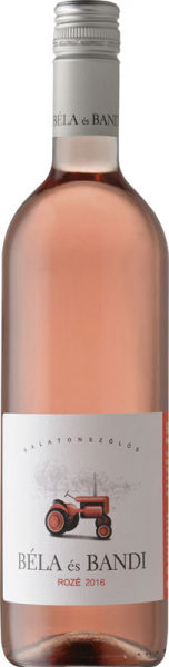 Béla És Bandi Rozé 2016 rosé Béla És Bandi