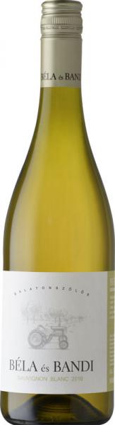 Béla És Bandi Sauvignon Blanc 2016 fehér Sauvignon Blanc