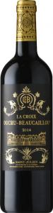 Chateau Ducru-Beaucaillou La Croix de Beaucaillou 2014 Saint Julien vörös Vörös Házasítás