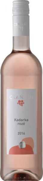 Csanádi Kadarka Rosé 2016 rosé Csanádi Szőlőbirtok