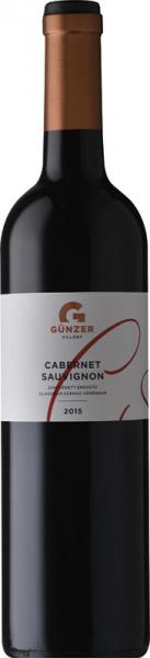 Günzer Cabernet Sauvignon 2015 vörös Cabernet Sauvignon