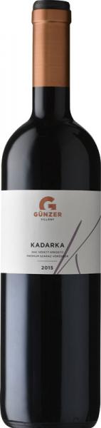 Günzer Kadarka 2015 vörös Kadarka