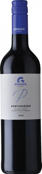 Günzer Portugieser 2016 vörös Portugieser