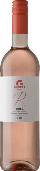 Günzer Rosé 2016 rosé Günzer Zoltán