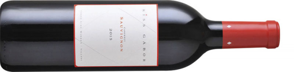 Kiss Gábor Cabernet Sauvignon 2015 vörös Cabernet Sauvignon