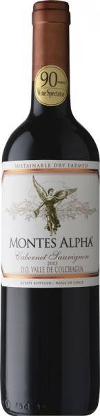 Montes Alpha Cabernet Sauvignon 2013 vörös Cabernet Sauvignon