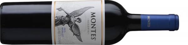 Montes Reserva Merlot 2015 vörös Merlot