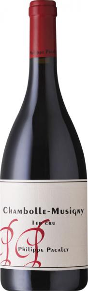 Philippe Pacalet Chambolle Musigny 2012 Premier Cru vörös Pinot Noir