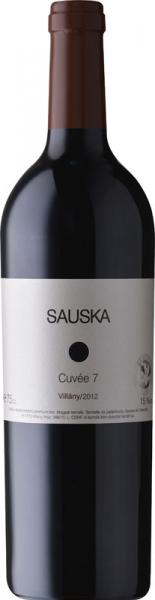 Sauska Cuvée 7 Villány 2012 vörös Vörös Házasítás