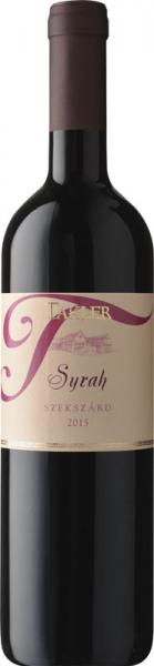 Takler Syrah 2015 vörös Syrah