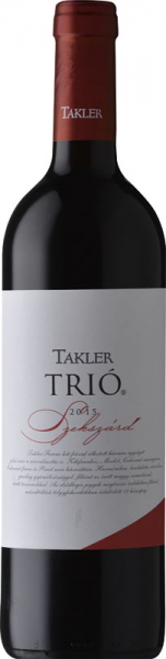 Takler Trió Cuvée 2015 vörös Vörös Házasítás