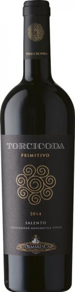 Tormaresca Torcicoda Primitivo 2014 vörös Vörös Házasítás