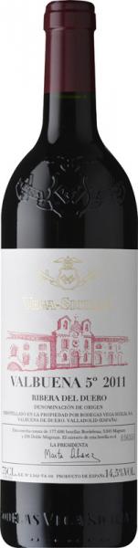 Vega Sicilia Valbuena 2011 vörös Vörös Házasítás